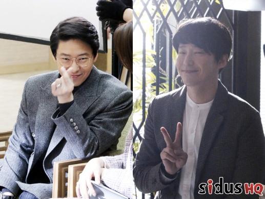 """Uhm Ki Joon Is A Cutie Pie Behind The Scenes Of """"Defendant"""""""