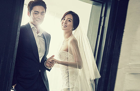 Announcers Oh Sang Jin And Kim So Young Look Stunning In Wedding Photo Shoot With Elle
