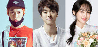 NCT Doyoung Gong Myung Jung Hye Sung