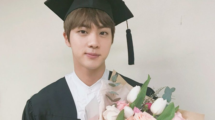 BTS Celebrates Jin's Graduation From University   Soompi