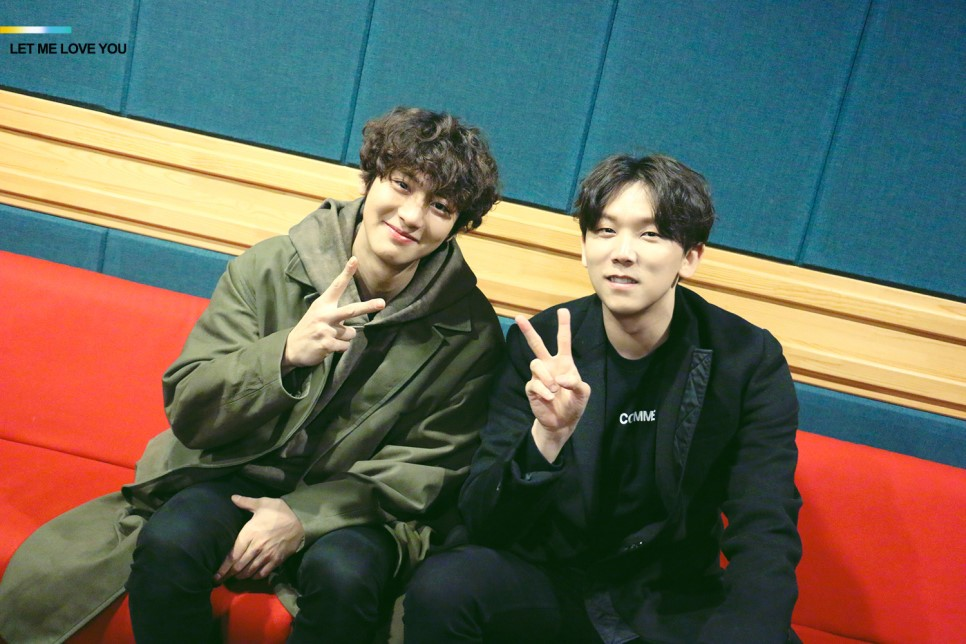 EXO's Chanyeol And Junggigo Are Full Of Smiles As They Explain How They Came To Collaborate