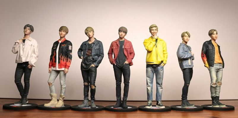 BTS-figurines