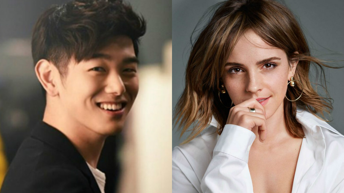 "Eric Nam Teases Upcoming ""Beauty And The Beast"" Interview With Emma Watson And More"