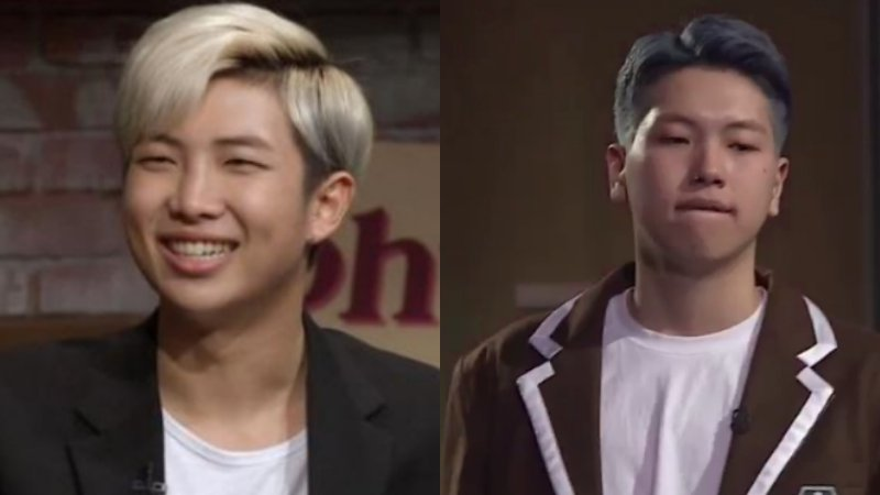 """High School Rapper"" Contestant Gets Noticed For Resemblance To BTS's Rap Monster"