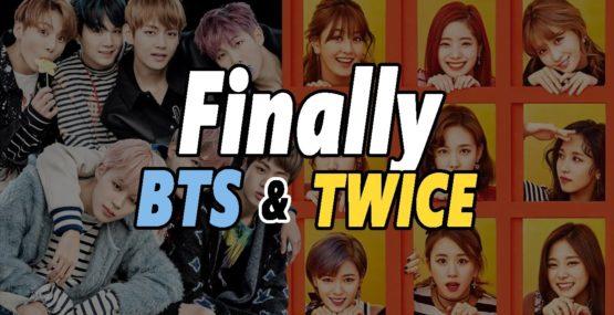 BTS TWICE comeback