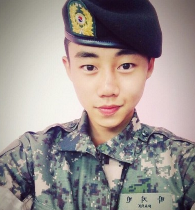 Actor Park Ji Bin Gets Discharged From The Military