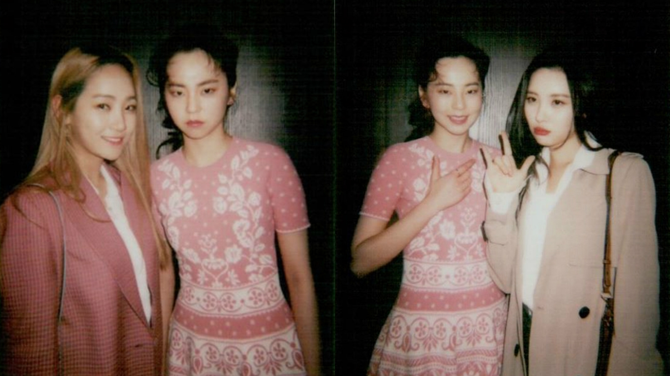 Ahn Sohee Shows Off Close Friendship With Former Wonder Girls Members