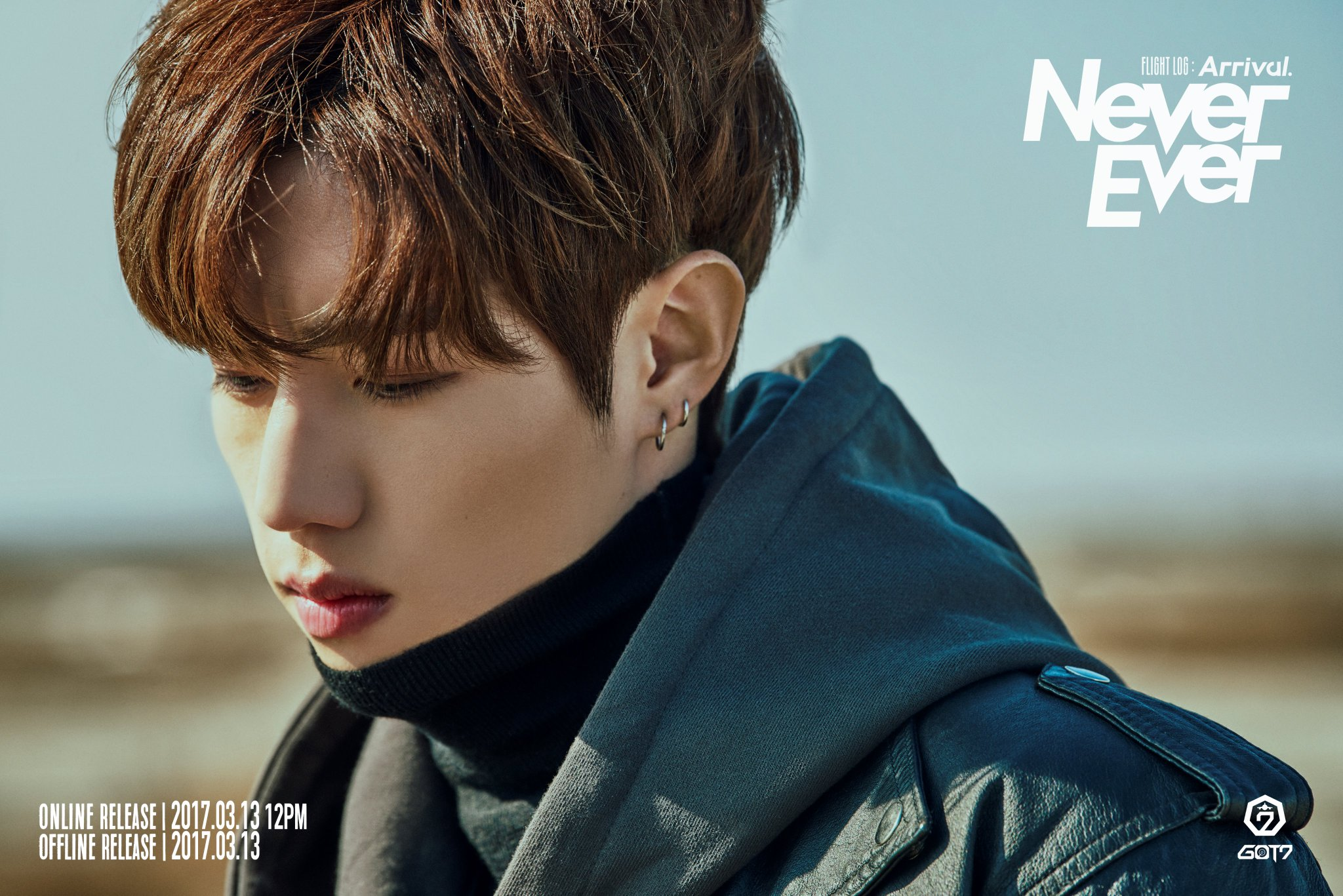 "GOT7 Releases Mark's Individual Teaser Photos And Preview Clip For ""Never Ever"""