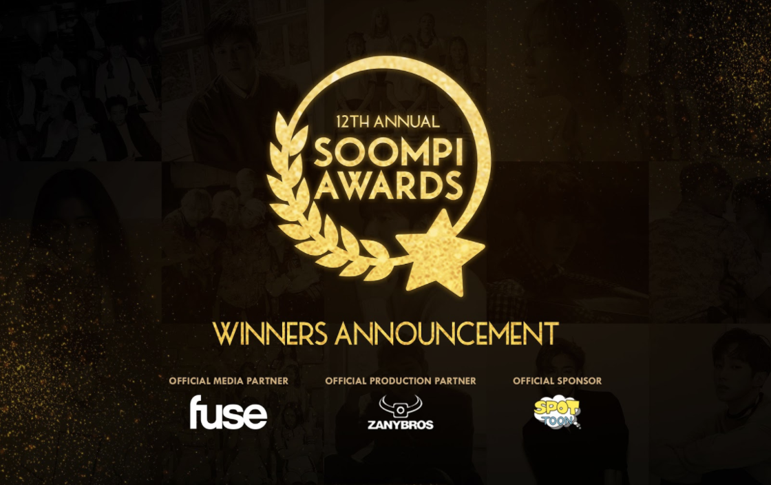Announcing The Results Of The 12th Annual Soompi Awards!