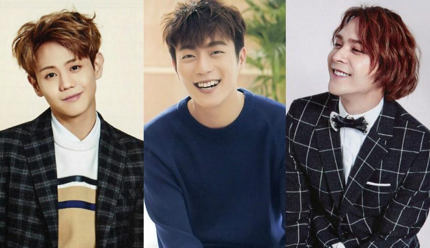Yoon Doo Joon And Son Dongwoon Support Yang Yoseob At His Musical