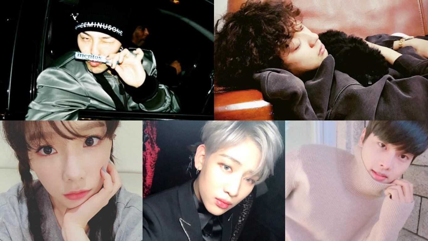 G-Dragon, Chanyeol, Taeyeon, BamBam, And N Reach Impressive Follower Milestones On Instagram
