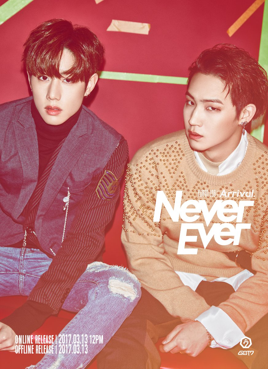 "Update: GOT7's JB And Mark Feature In New Bonus Teaser Photo For ""Never Ever"""