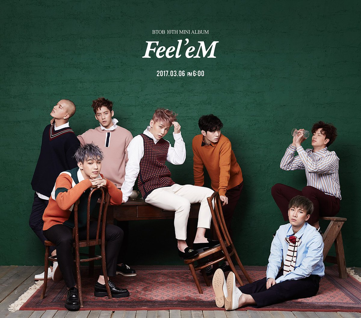 BTOB Thanks Their Fans For Helping Them Reach No. 1 On Music Charts