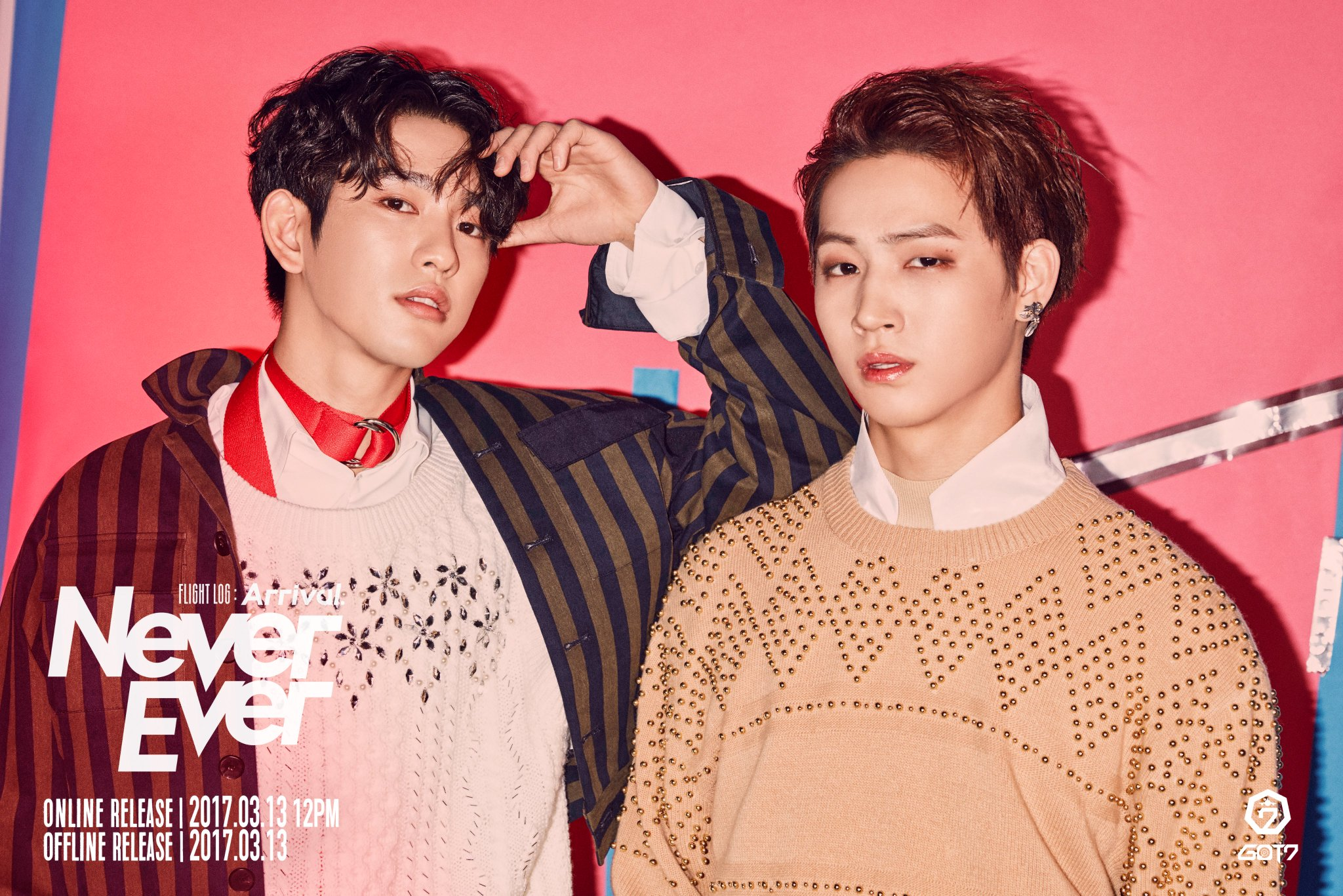 "Update: GOT7's Jinyoung and JB Pair Up In New Bonus Teaser Photo For ""Never Ever"""