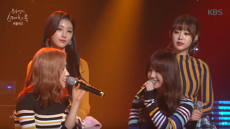 Watch: Lovelyz Celebrates Pregnant Baek Ji Young's Upcoming Due Date With Medley Of Her Songs