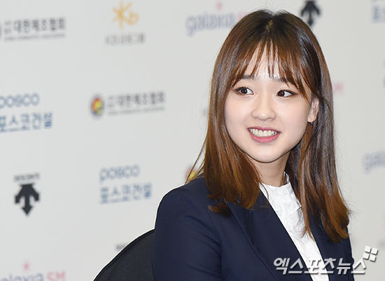 Former Rhythmic Gymnast Son Yeon Jae Holds Press Conference About Her Retirement