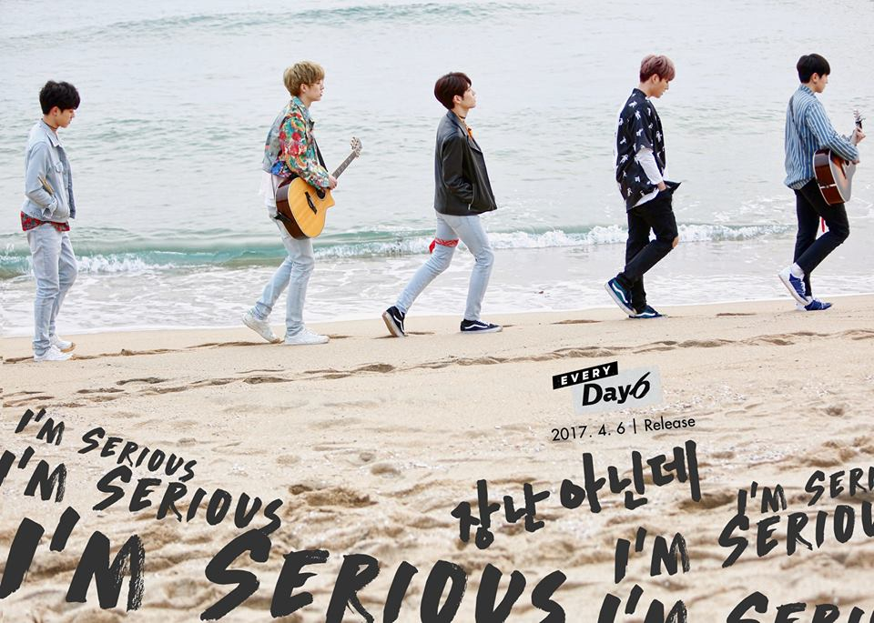 "Update: DAY6 Reveals MV Teaser And Group Teaser Images For ""I'm Serious"""