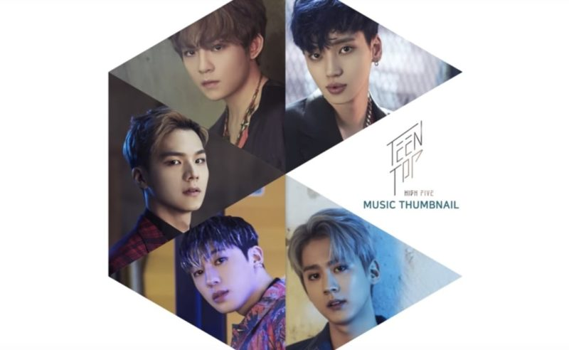 """Update: Teen Top Releases Album Preview Medley For """"High Five"""""""