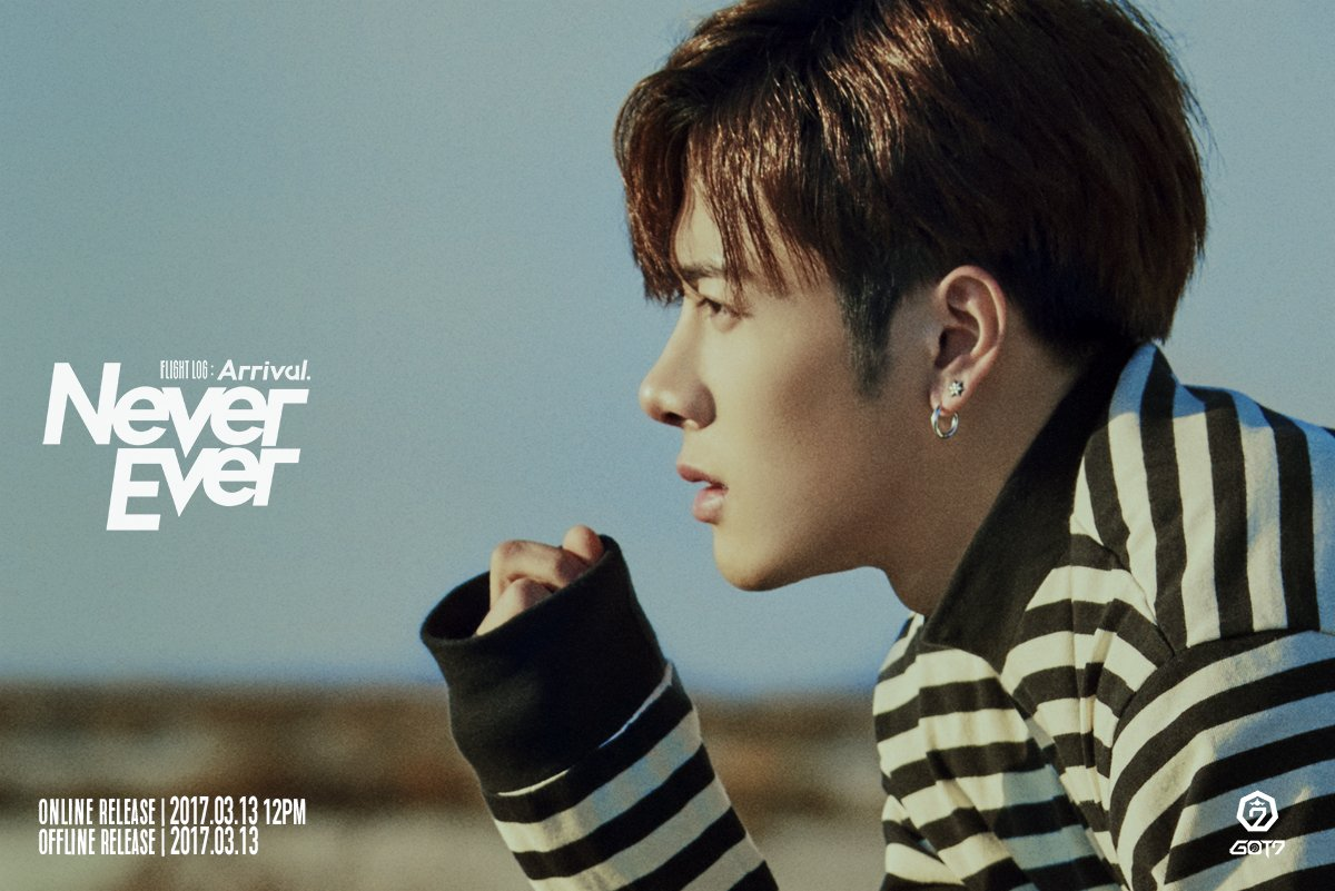 "GOT7 Releases Jackson's Individual Teaser Photos And Preview Clip For ""Never Ever"""