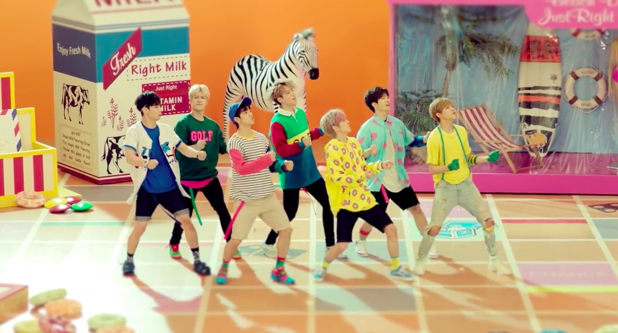 """GOT7's """"Just Right"""" Becomes Their 1st MV To Hit 100 Million Views"""