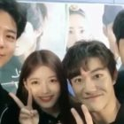 """Kim Yoo Jung Shares Adorable Video Of Park Bo Gum Pranking """"Moonlight Drawn By Clouds"""" Main Cast"""