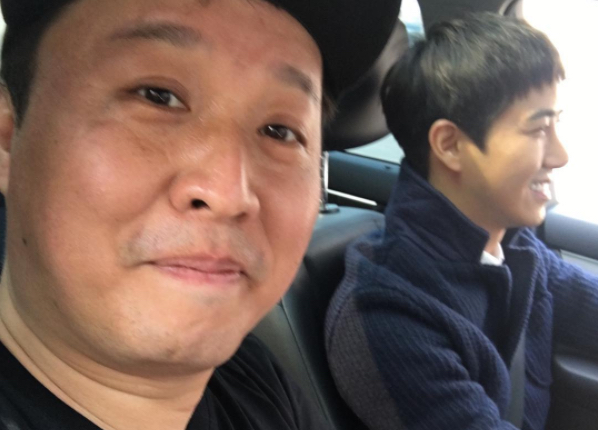 Kwanghee Spends Quality Time With Jung Joon Ha Ahead Of His Upcoming Military Enlistment