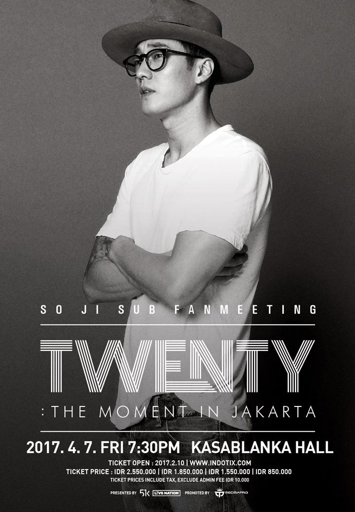 "So Ji Sub Brings His ""TWENTY"": The Moment Fan Meeting To Jakarta"