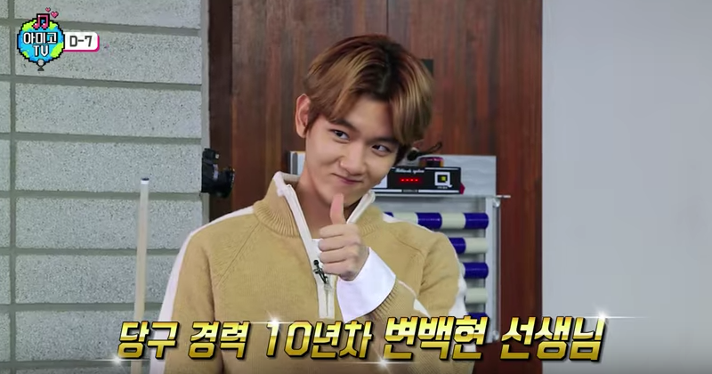 Watch: Baekhyun Is EXO's Resident Billiards Teacher (So He Claims) + Hyper Puppy In Variety Show Preview