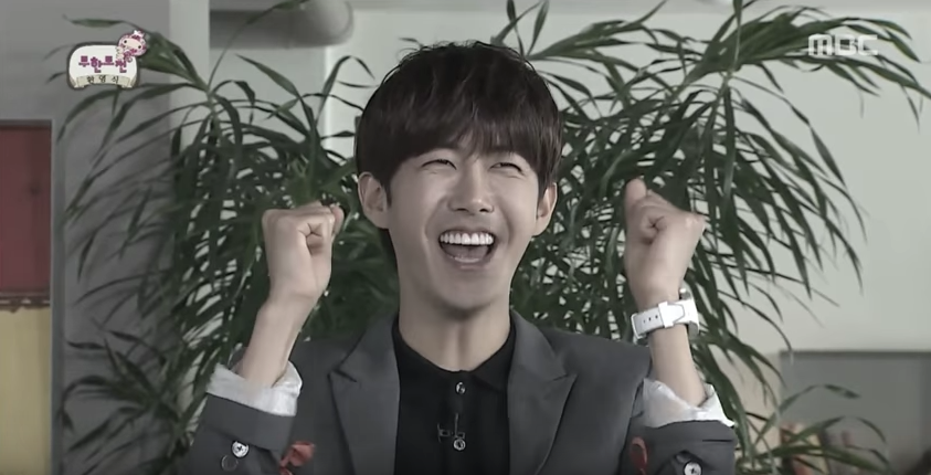 """Watch: """"Infinite Challenge"""" Gifts Kwanghee Sweet Farewell Video Ahead Of His Military Enlistment"""