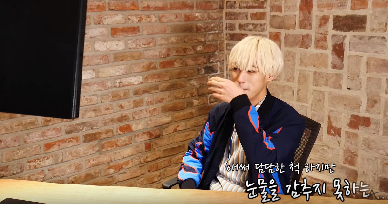 VAV's Ayno Is Moved To Tears After Being Surprised By Parents' Encouraging Letter