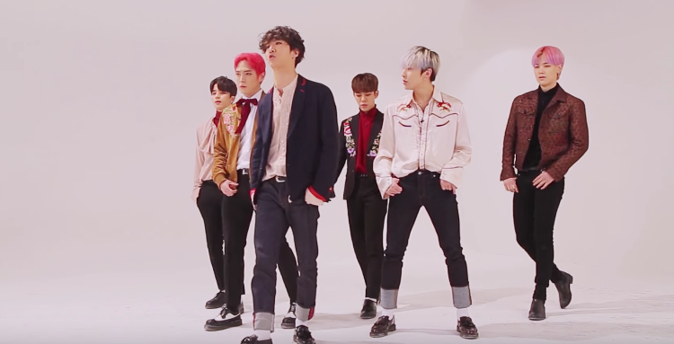 "Watch: B.A.P Gives Closer Look At Stunning ""Wake Me Up"" Choreography From Past Broadcast"