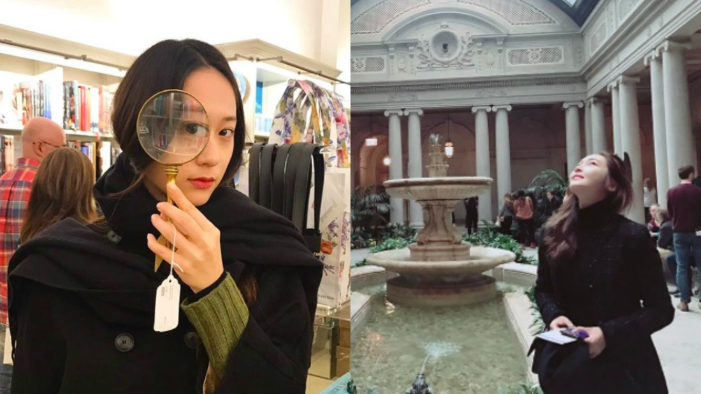 Jessica And Krystal Share Photos From Their Afternoon Together In New York City