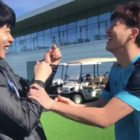 Ryu Jun Yeol And Soccer Player Son Heung Min Have An Adorable Bromance