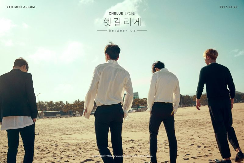 Update: CNBLUE Shares Teaser Poster For Comeback With 7th Mini Album