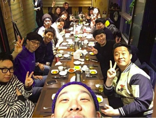 "Kwanghee Meets With ""Infinite Challenge"" Members One More Time Before Military Enlistment"