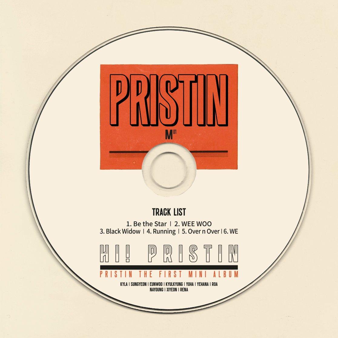 pristin track list