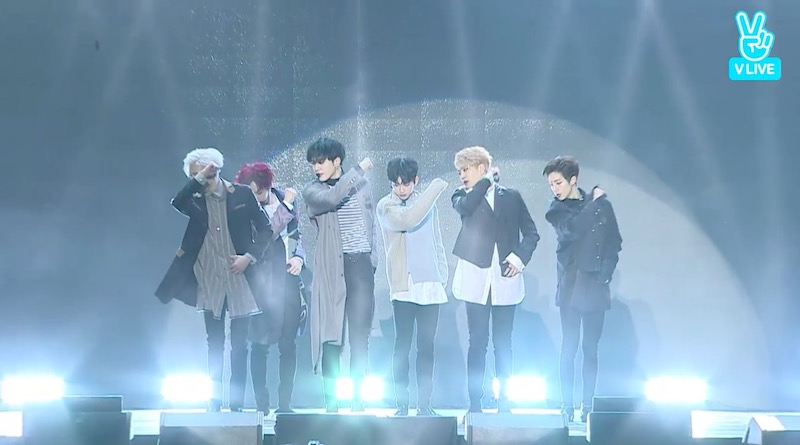 """Watch: GOT7 Stages 1st Performance Of """"Never Ever"""" At Showcase"""