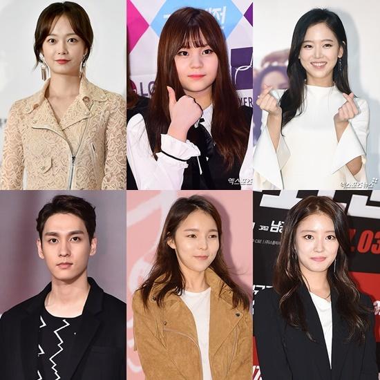 Jun So Min GFRIEND Umji Kang Han Na Choi Tae Joon Park Jin Joo Lee Se Young XPN