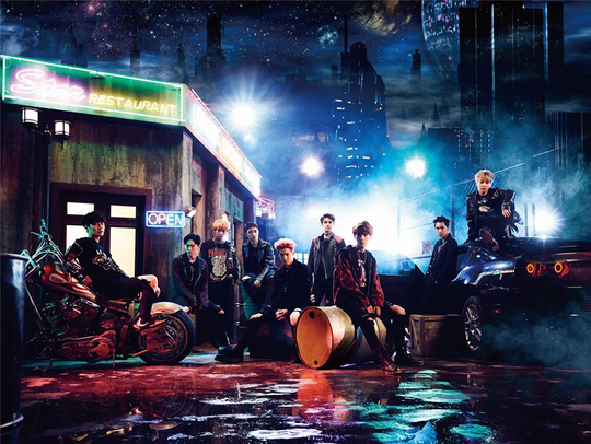 EXO Tops Three Oricon Charts In Japan For The Third Time In A Row