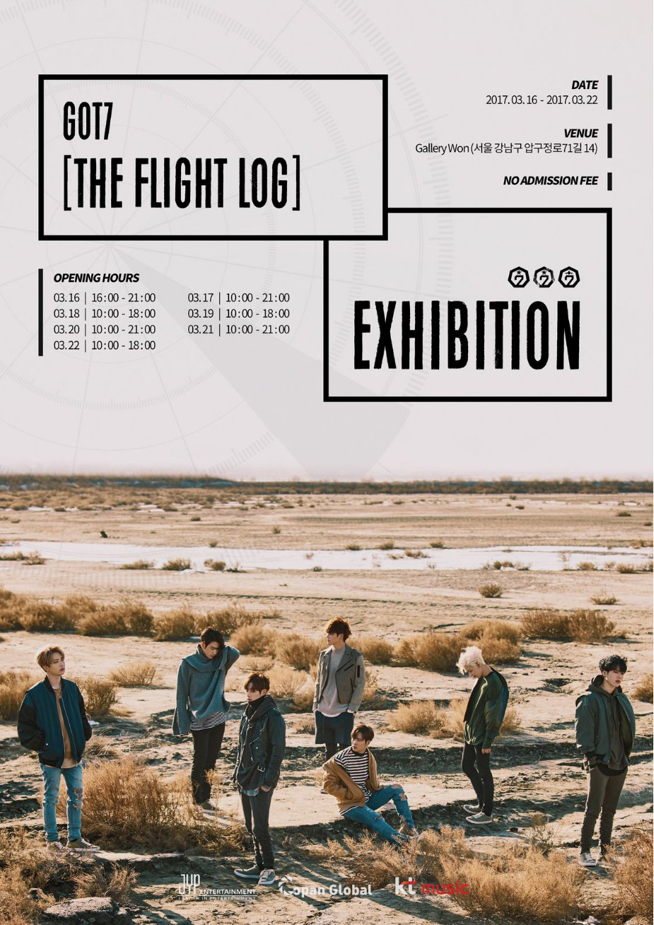 """GOT7 To Hold Special """"Flight Log"""" Exhibition For Fans"""
