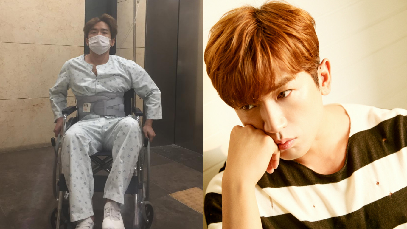 Reps Of Shinhwa's Lee Min Woo Explain Recent Worrying Update By Singer