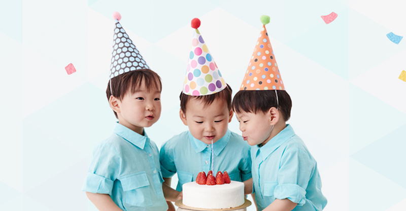 Watch Song Triplets Sing Happy Birthday To Each Other In Adorable