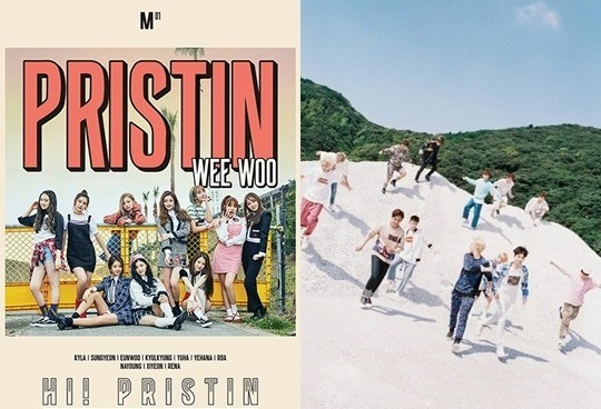 PRISTIN Possibly Aiming To Follow In The Footsteps Of Labelmate SEVENTEEN In Terms Of Concepts