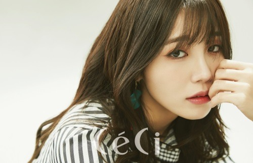 Apink's Jung Eun Ji Talks About The Power Of Music And How It Affects Her Life For CéCi