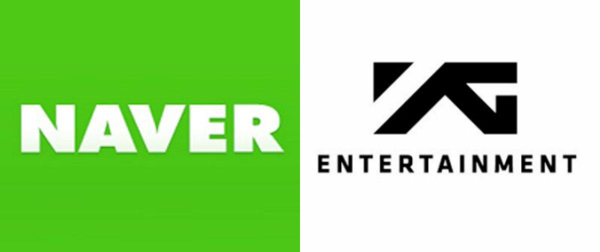 Naver Invests 100 Billion Won Into YG Entertainment