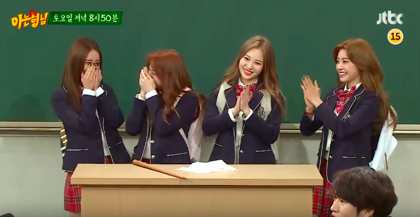 "Watch: Girl's Day To Let Loose On Next Week's ""Ask Us Anything"""