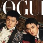 EXO Members Are Charming Cover Models For Vogue Korea