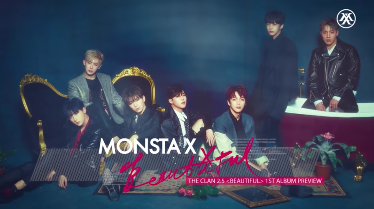 Listen: MONSTA X Shares Jam-Packed Preview Of Their First Full Length Album