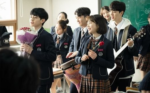 """Red Velvet's Joy Transforms Into A Musical Cupid In Stills For """"The Liar And His Lover"""""""