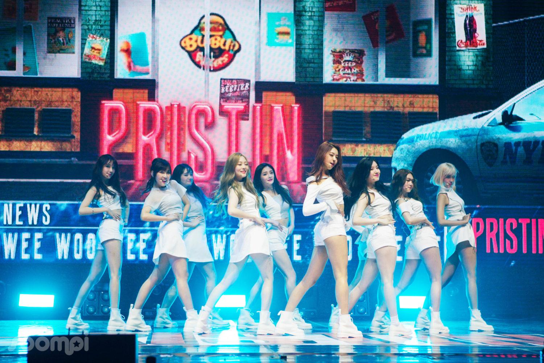 "Exclusive: PRISTIN Makes A Shining Debut At Showcase ""HI! PRISTIN"""